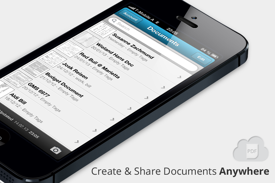 InstaPDF - Mobile scanning & sharing made easy with the cloud.
